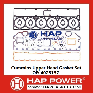 Cummins Upper Head Gasket Set 4025157