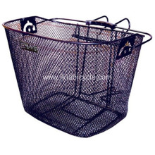 Front Handlebar Mesh Bottom Light-Off Bike Basket