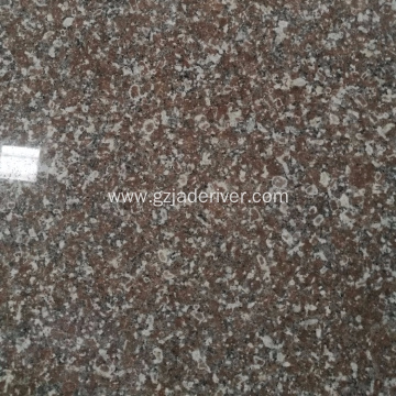Polar ya Red Sturdy Granite Slab Tile ya jumla