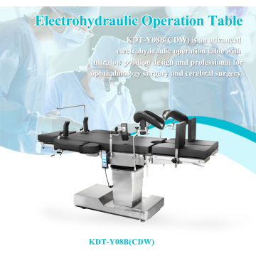 Hospital and clinics electric ophthalmology operating table