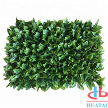 Plastic Material UV Proof Leaves Artificial Boxwood Hedge