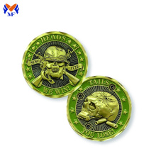 Metal military challenge coins custom