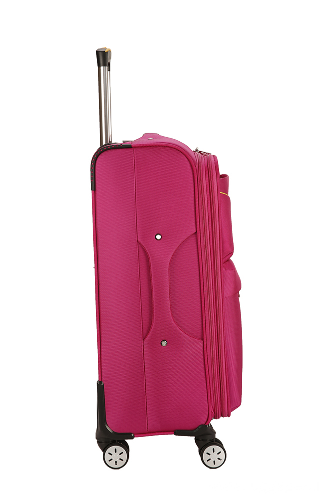 Durable Stretch Solid Color Fabric Travel Luggage