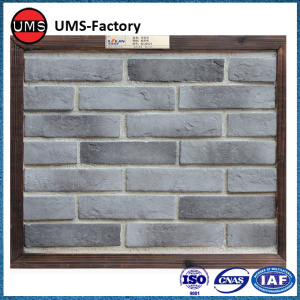 Rustic dry stone wall effect tiles