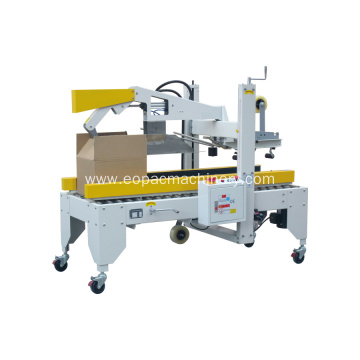 Semi Auto Flaps Folding Case Sealer