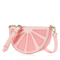 Cute candy color fruit shape shoulder bag handbag