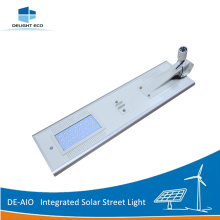 High Performance for All-In-One Solar Led Street Light DELIGHT DE-AIO cctv Camera Integrated Solar Street Lighting export to North Korea Exporter