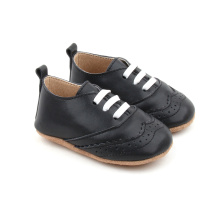 Black Baby Kids Oxford Shoes