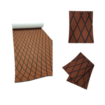 Dark Brown & Black EVA Marine Diamond Sheet