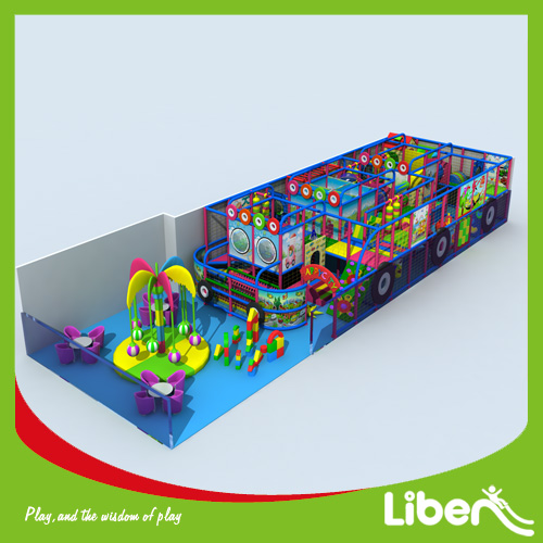 Recreational commercial indoor amusement playground