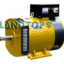 China for 240 Volt Alternator ST-15KW 220V Brush AC Generator Alternator export to Italy Factory