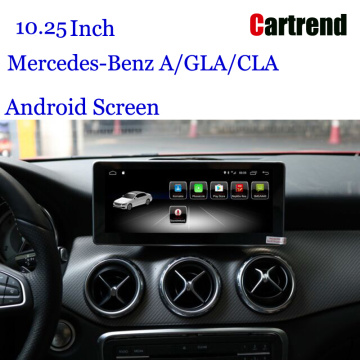 "Android 10.25 ""display para Mercede-Benz A Class"
