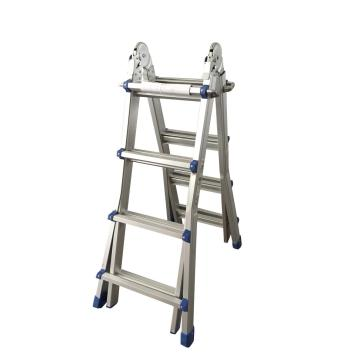 Aluminum extension telescopic ladder