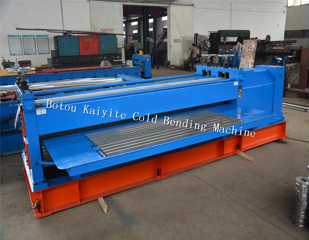 Metal Barrel Type Corrugated Sheet Forming Machine China