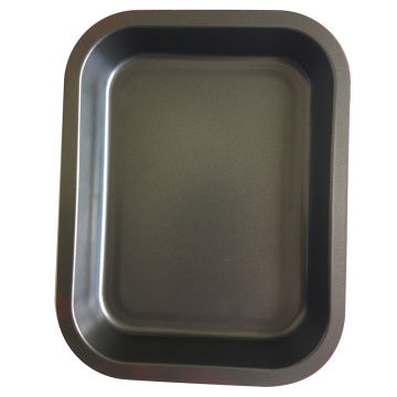 High Definition For for Baking Tray Red Rectangle Nonstick Bakeware Cookie Pan export to France Wholesale