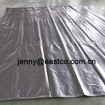 UV Blocking Polyethylene Tarpaulin Silver Loans