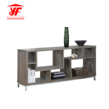 Hot Wooden Modern TV Stand With Showcase