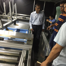 Belt Driven Roller Conveyor Assembly Line for TV