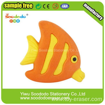 Clown Fish Shaped Collectible Eraser From Yiwu Zhejiang