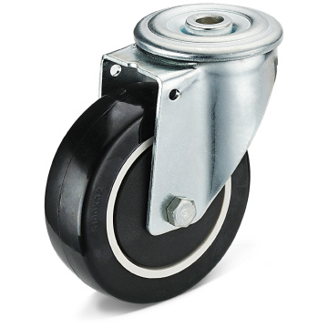 13 Series PU Bolt Hole Movable Casters