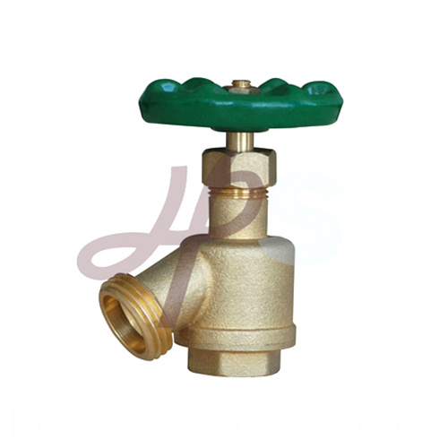 Brassbronze Garden Valves With Steel Wheel