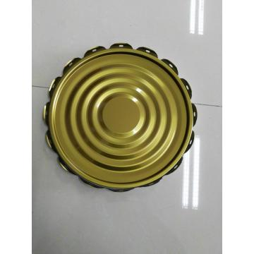GOLD LAMINATED TIN CAN TOP