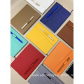 synthetic PU coated leather for binding cover