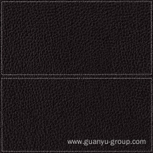 Black Leather With Frame Porcelain Porcelain Tile