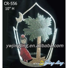 Fast Delivery for Christmas Party Hats Custom Princess Under Tree Crowns CR-556 export to Angola Factory