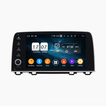 car multimedia system android for CRV 2017