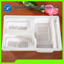 White Plastic Food Tray Plastic Blister Packaging