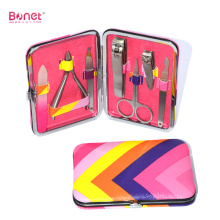 Customized for Beauty Travel Manicure Set High Quality Fashion Grooming Case Travel Manicure Set supply to Indonesia Manufacturers
