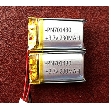 230mAh Lithium ion Polymer Battery for Headset (LP1X3T7)