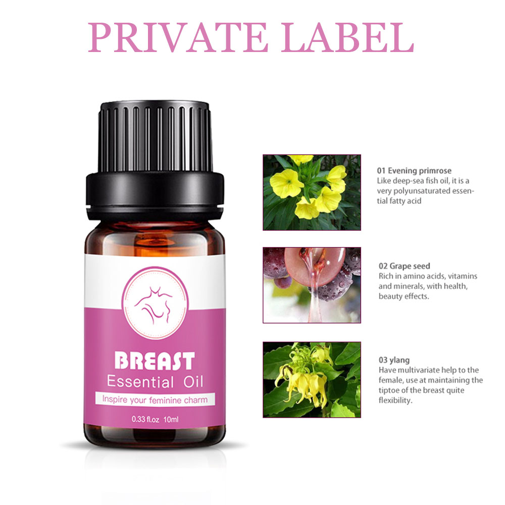 Breast essential oil