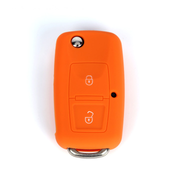 Silicone Remote Rubber Car Key Case VW