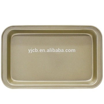 Factory For for Silicone Chocolate Mold Oven Baking Tray Carbon Steel Cookies Tray Sheet supply to Italy Wholesale