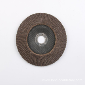 Manufacturer for for Brown Flap Disc Calcined Aluminum Abrasive Brown Flap Disc Fiberglass Back export to Tokelau Factories