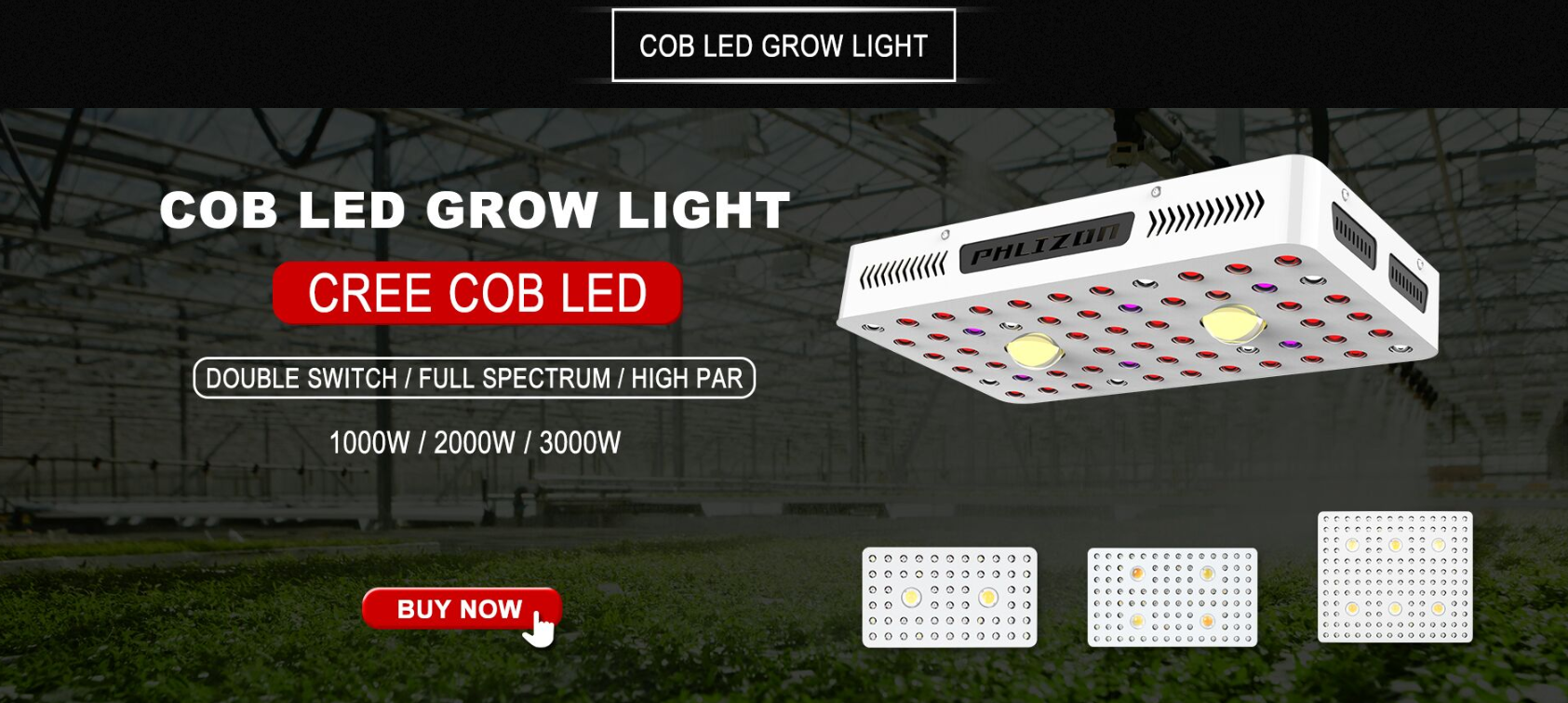 600W COB LED Grow Light