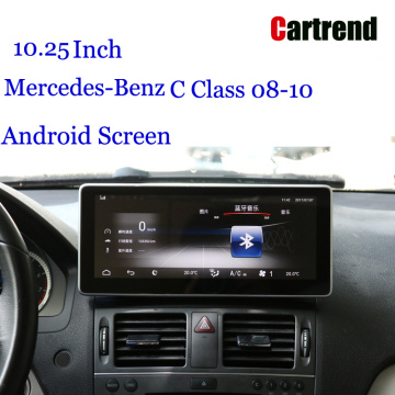 W204 Screen Music para Benz Classe C 08-10