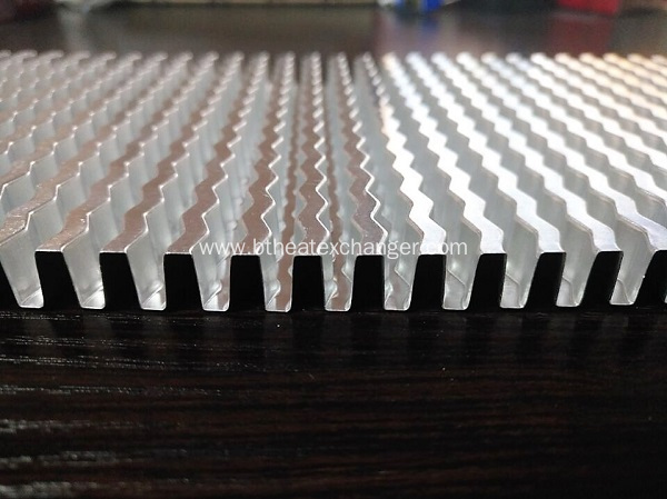 Wavy Fin / Corrugated Fin for Heat Exchanger