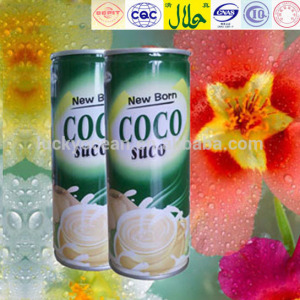 instant to drink coconut beverage 240ml in can