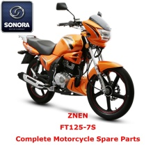 Leading Manufacturer for Supply Znen Scooter Starter Motor, Znen Scooter Carburetor, Znen Scooter CDI to Your Requirements ZNEN FT125-7S Complete Motorcycle Spare Part supply to Indonesia Supplier