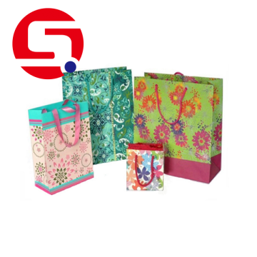 Wholesale paper shopping bags with handles