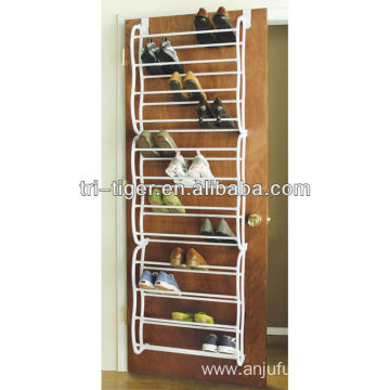 24 Pairs Wall Mounted Coat Rack/Shoe Rack