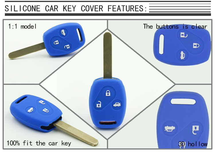 Honda car key Silicone case