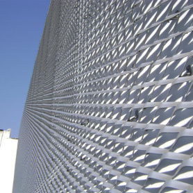 Expanded Metal Mesh Ceiling