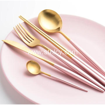 304 4-Piece Stainless Steel Flatware Set