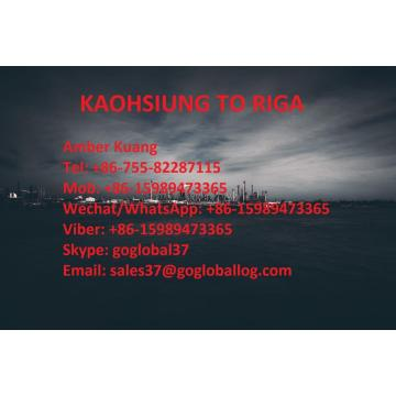 Taiwan Kaohsiung Sea Freight to Latvia Riga