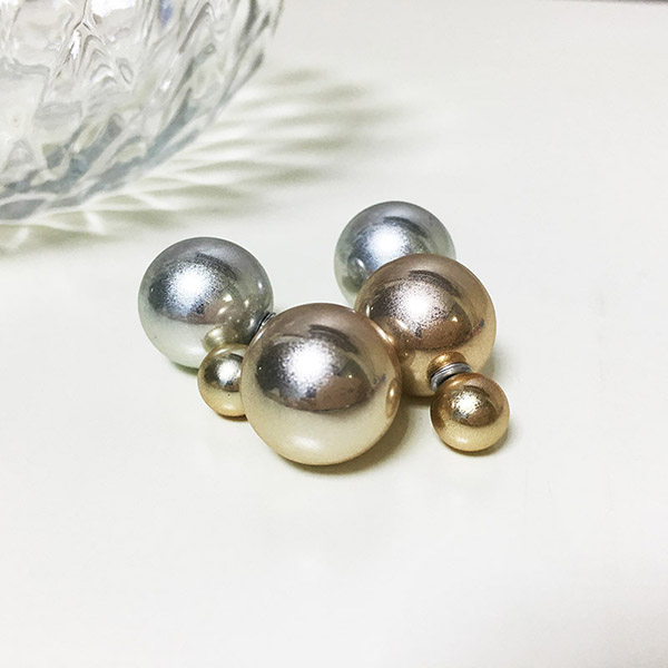 Two Sided Stud Earrings