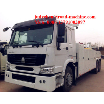 25T 6 x 4 Heavy Wrecker Truck 336hp